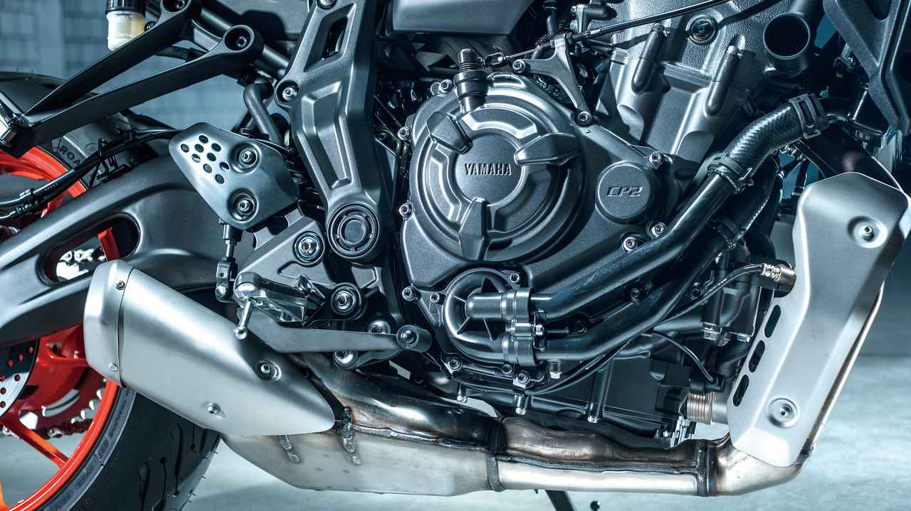 Images : 5番目の画像 - 【写真13枚】ヤマハ新型MT-07 - webオートバイ