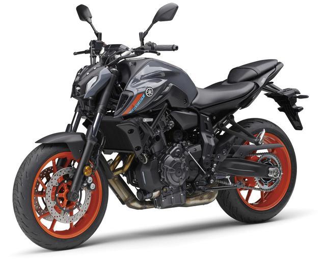 画像: ヤマハ新型「MT-07 ABS」 総排気量:689cc エンジン形式:水冷4ストDOHC4バルブ並列2気筒 シート高:805mm 車両重量:184kg ※写真・スペックは欧州仕様車 国内での発売予定時期は2021年春以降