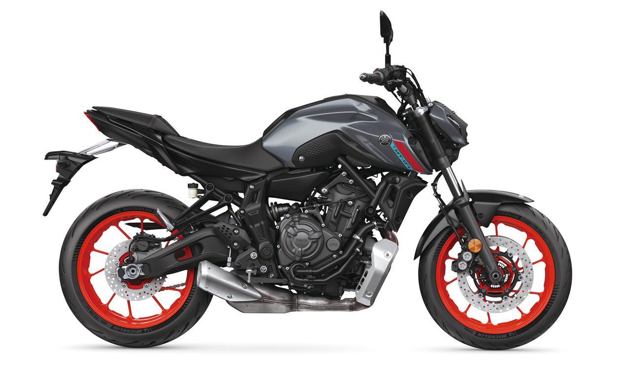 Images : 9番目の画像 - 【写真13枚】ヤマハ新型MT-07 - webオートバイ