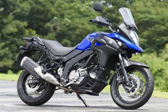 画像: SUZUKI V-Strom 650XT ABS 総排気量:645cc エンジン形式:水冷4ストDOHC4バルブ90°V型2気筒 最高出力: 最大トルク: シート高: 車両重量: メーカー希望小売価格:税込96万8000円