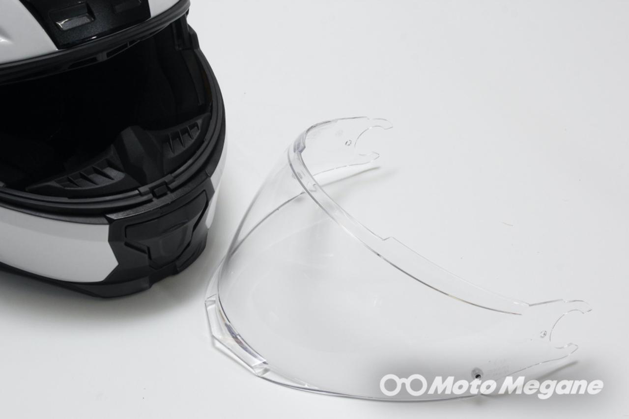 画像3: メガネに干渉しないインナーバイザーを装備