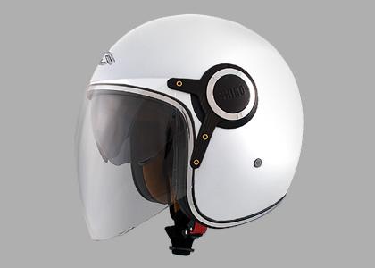 画像: SHIRO SH-235 ビュレット・グロスホワイト – aidea | 電動バイクで地球を救う