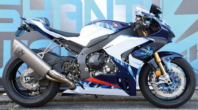 画像1: バイクのカラーを変える「ラッピング」とは? 塗装よりも気軽で元の色にも戻せるフルカラーチェンジの方法を紹介