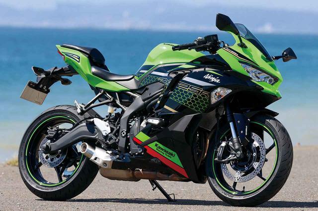 画像: Kawasaki Ninja ZX-25R SE KRT EDITION 総排気量:249cc エンジン形式:水冷4ストDOHC4バルブ並列4気筒 最高出力:33kW(45PS)/15,500rpm ラムエア加圧時:34kW(46PS)/15,500rpm 最大トルク:21N・m(2.1kgf・m)/13,000rpm 発売日:2020年9月10日 メーカー希望小売価格:91万3000円(消費税10%込) www.autoby.jp
