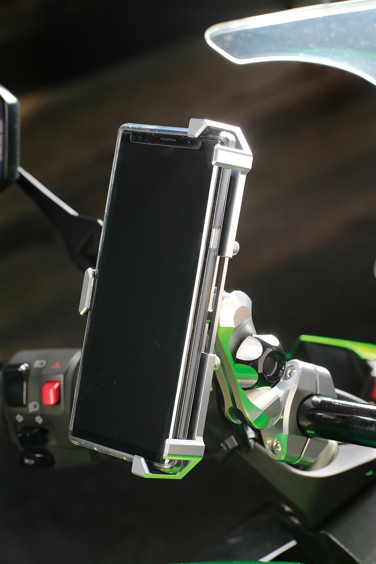 画像: 「工芸品」といえる品質の二輪用スマホホルダー! サインハウスのマウントシステムに注目 - webオートバイ