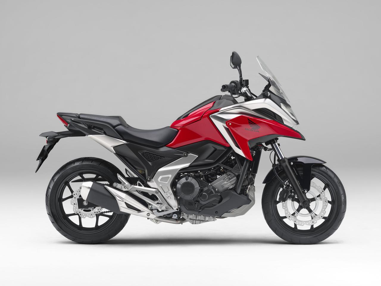 画像8: 全面進化! ホンダが新型「NC750X」の国内で発売|価格・仕様・カラーをチェック【2021速報】