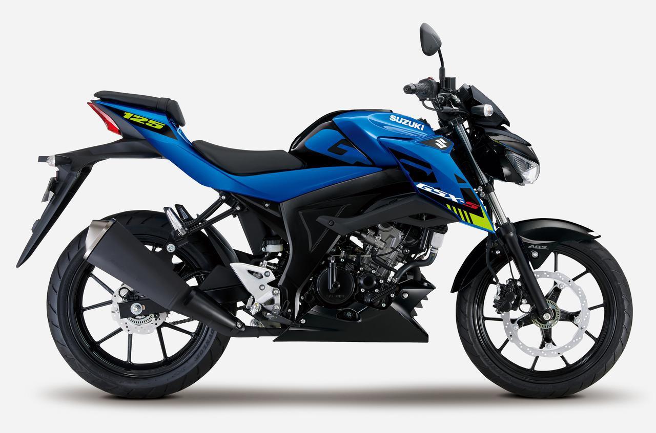 画像15: スズキが原付二種「GSX-R125」「GSX-S125」の2021年モデルを1月18日に発売! Rは3色、Sは2色で展開