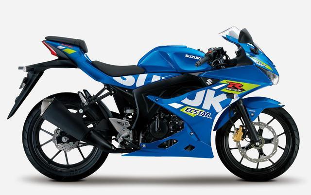 画像2: スズキが原付二種「GSX-R125」「GSX-S125」の2021年モデルを1月18日に発売! Rは3色、Sは2色で展開