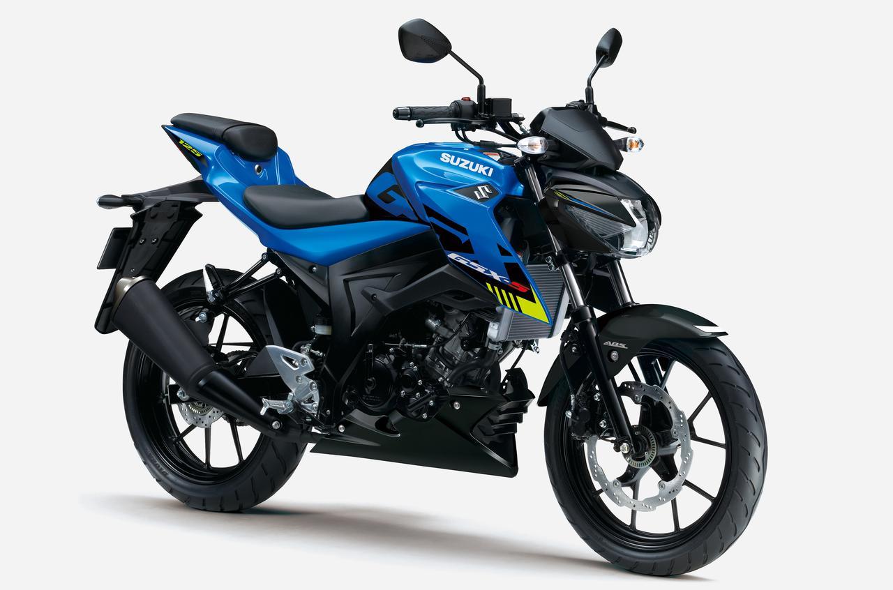 Images : 1番目の画像 - 【写真4枚】GSX-S125 ABS - webオートバイ