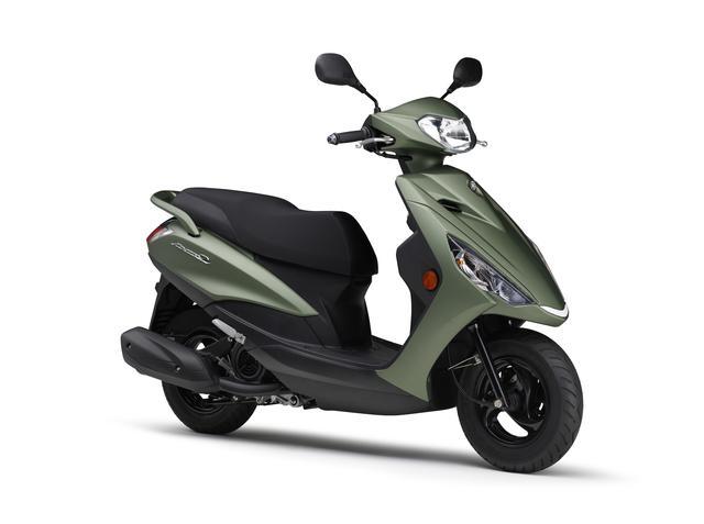 画像21: ヤマハが125ccスクーター「アクシスZ」の2021年モデルを発表! カラーは全5色設定で2月5日に発売