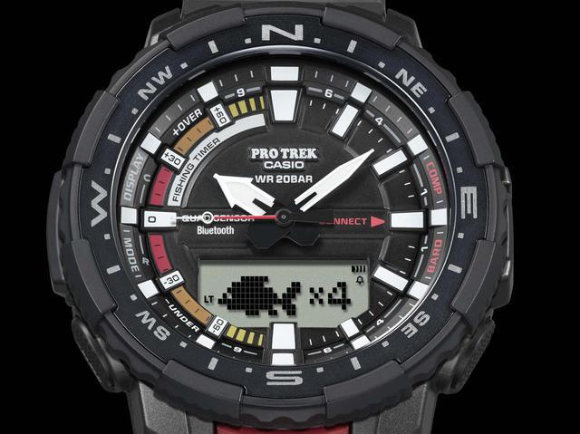 画像: 「釣ーリング」を楽しむ人にぴったりな腕時計! プロトレックから冒険感満点の新製品「PRT-B70」が登場 - webオートバイ