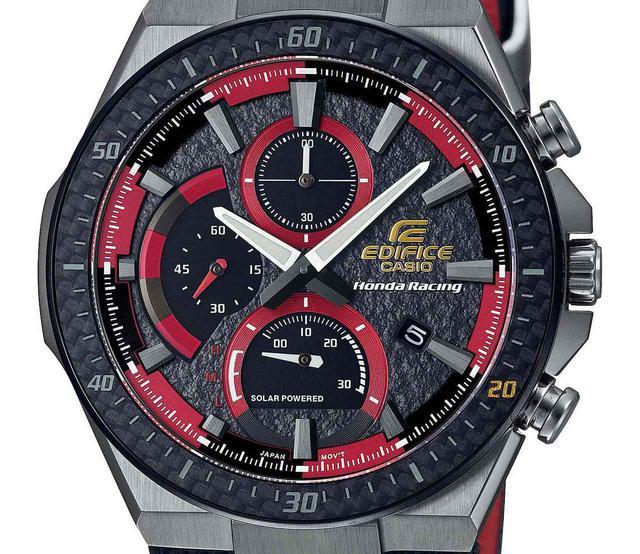 画像: エディフィスとホンダ・レーシングの最新コラボ腕時計が発売中! モータースポーツの世界観を表現したシリーズ第4弾 - webオートバイ
