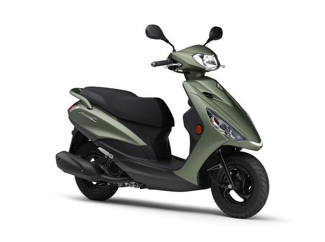 画像3: ヤマハが125ccスクーター「アクシスZ」の2021年モデルを発表! カラーは全5色設定で2月5日に発売