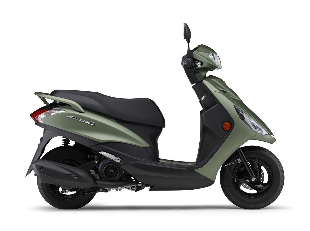 画像1: ヤマハが125ccスクーター「アクシスZ」の2021年モデルを発表! カラーは全5色設定で2月5日に発売
