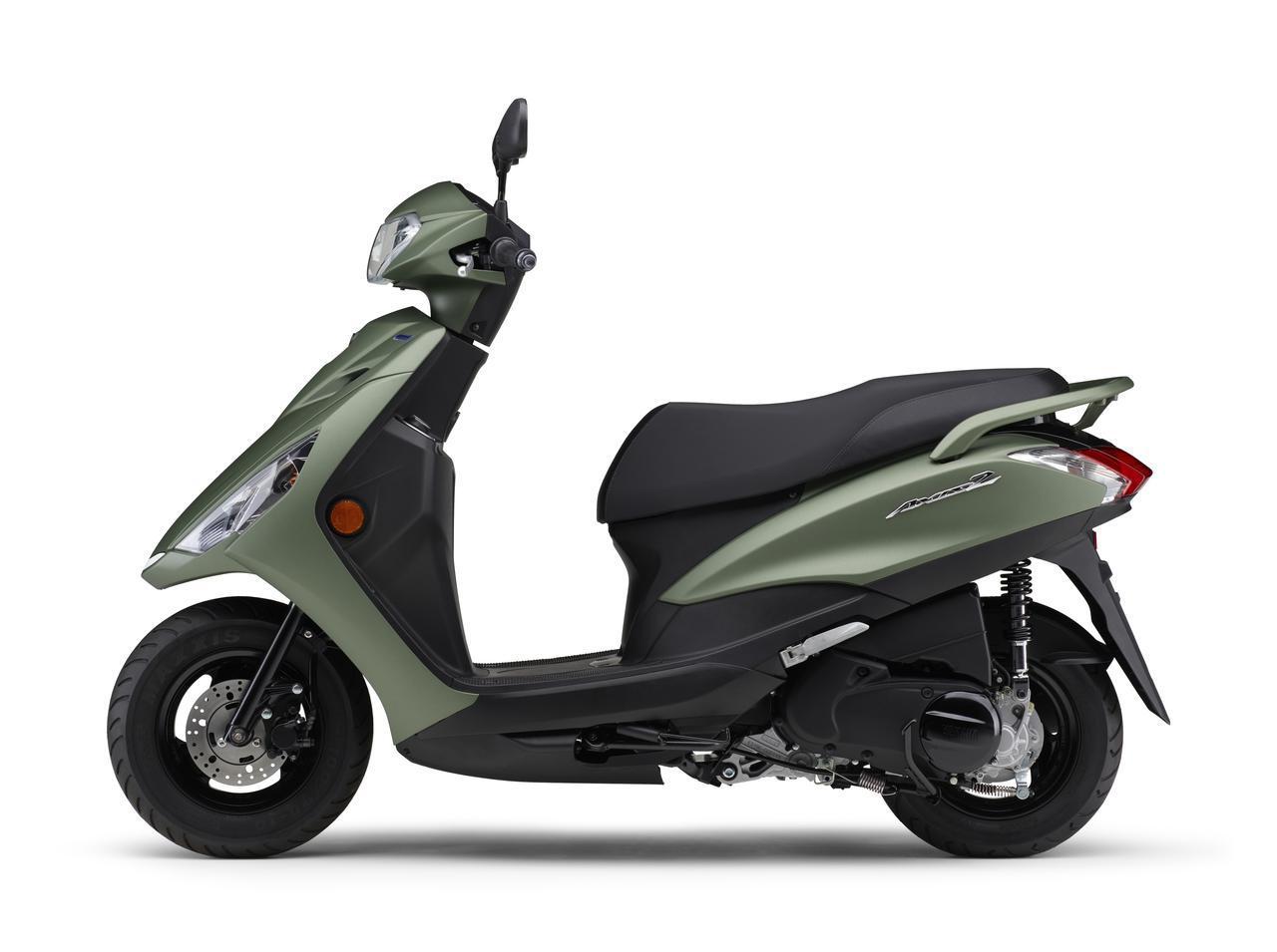 画像2: ヤマハが125ccスクーター「アクシスZ」の2021年モデルを発表! カラーは全5色設定で2月5日に発売