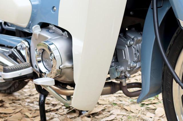 画像2: スーパーカブC125の走りはスポーティ