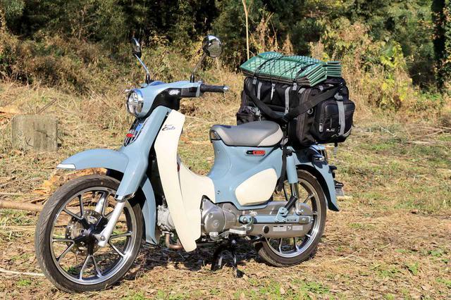 画像: 積載したバッグは、タナックス「キャンピングシートバッグ2」税込価格:25300円 www.autoby.jp
