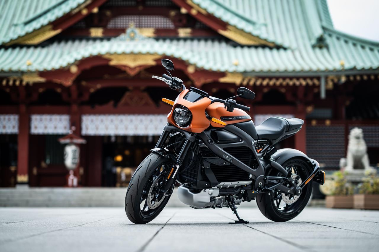 画像: ハーレー初の電動スポーツバイク「ライブワイヤー」概要 - webオートバイ