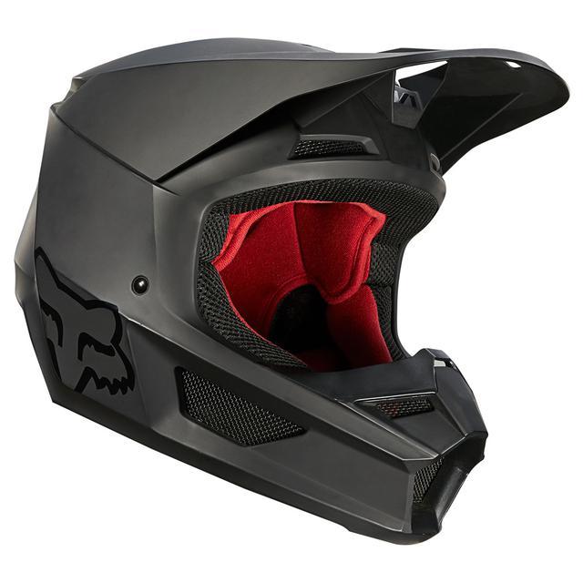 画像: V1 ヘルメット マット ブラック(2021)