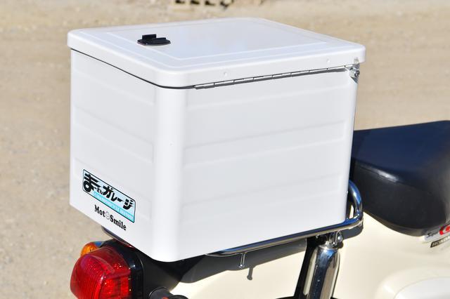 画像: スーパーカブといえば箱ですよね。随所に工夫が施されてるのだ。