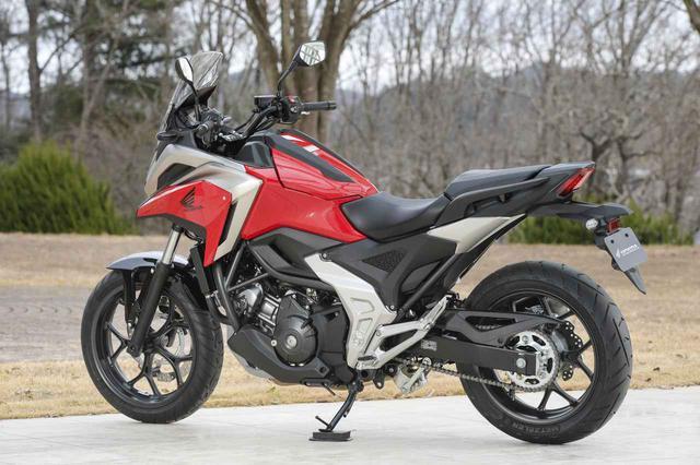 画像4: 全面進化! ホンダが新型「NC750X」の国内で発売|価格・仕様・カラーをチェック【2021速報】