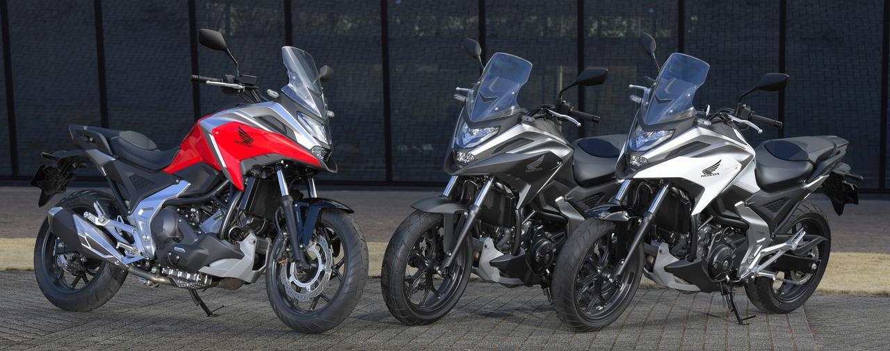 画像7: 全面進化! ホンダが新型「NC750X」の国内で発売|価格・仕様・カラーをチェック【2021速報】