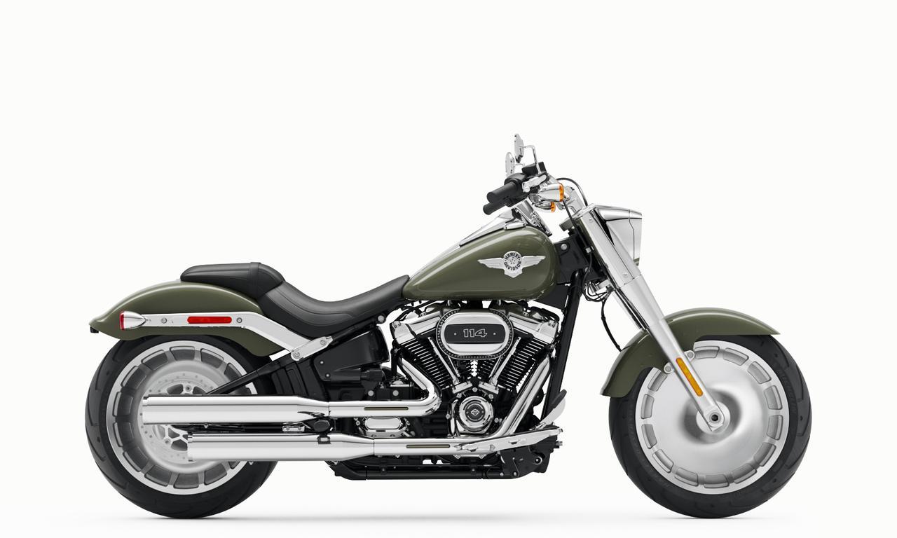 Images : 9番目の画像 - 【写真10枚】ハーレーダビッドソン「ファットボーイ114」2021年モデル - webオートバイ