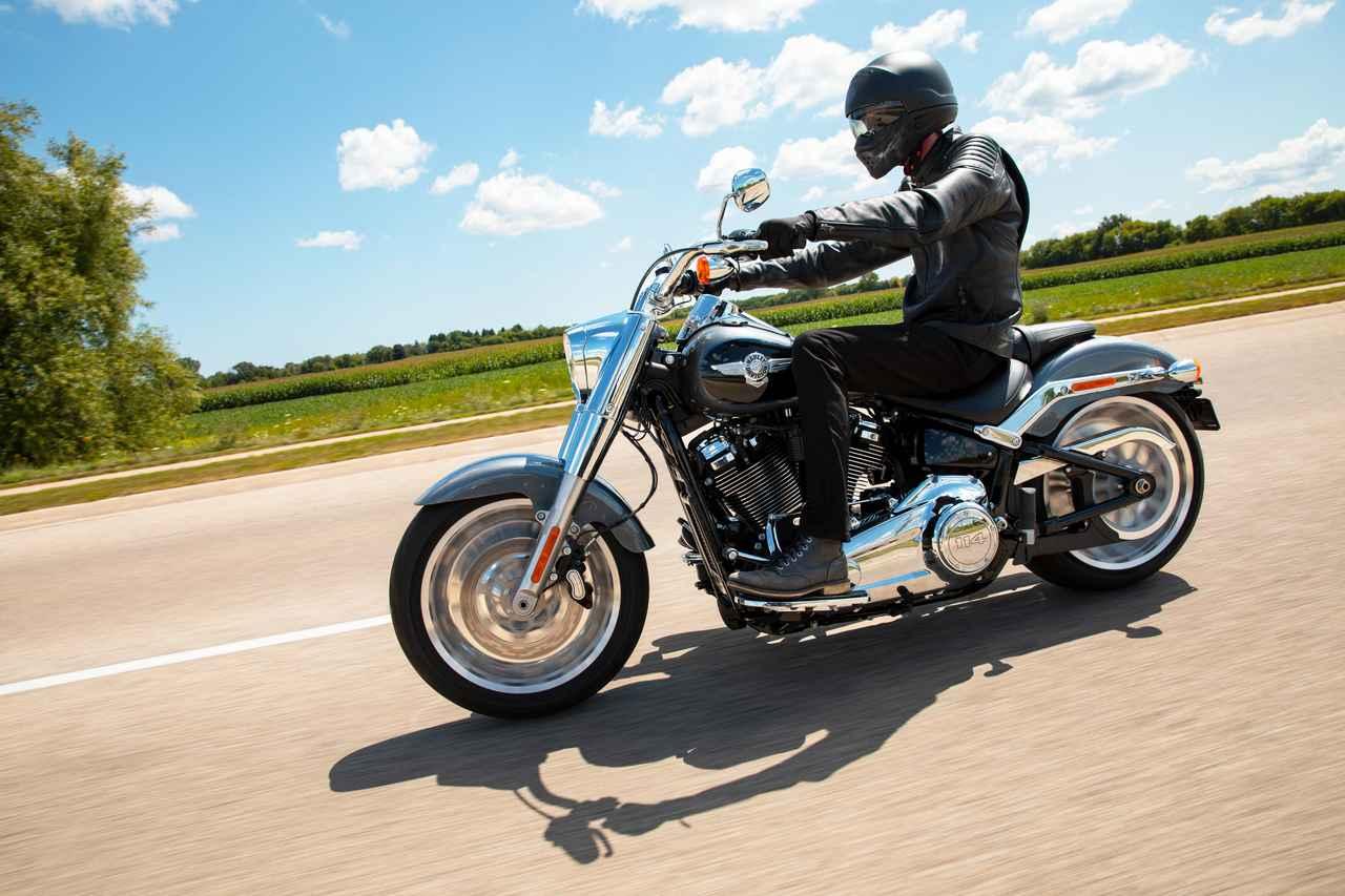 Images : 5番目の画像 - 【写真10枚】ハーレーダビッドソン「ファットボーイ114」2021年モデル - webオートバイ