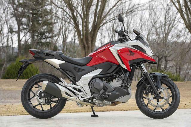 画像3: 全面進化! ホンダが新型「NC750X」の国内で発売|価格・仕様・カラーをチェック【2021速報】