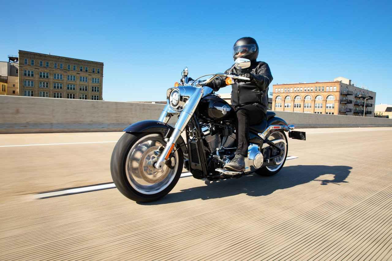 Images : 1番目の画像 - 【写真10枚】ハーレーダビッドソン「ファットボーイ114」2021年モデル - webオートバイ