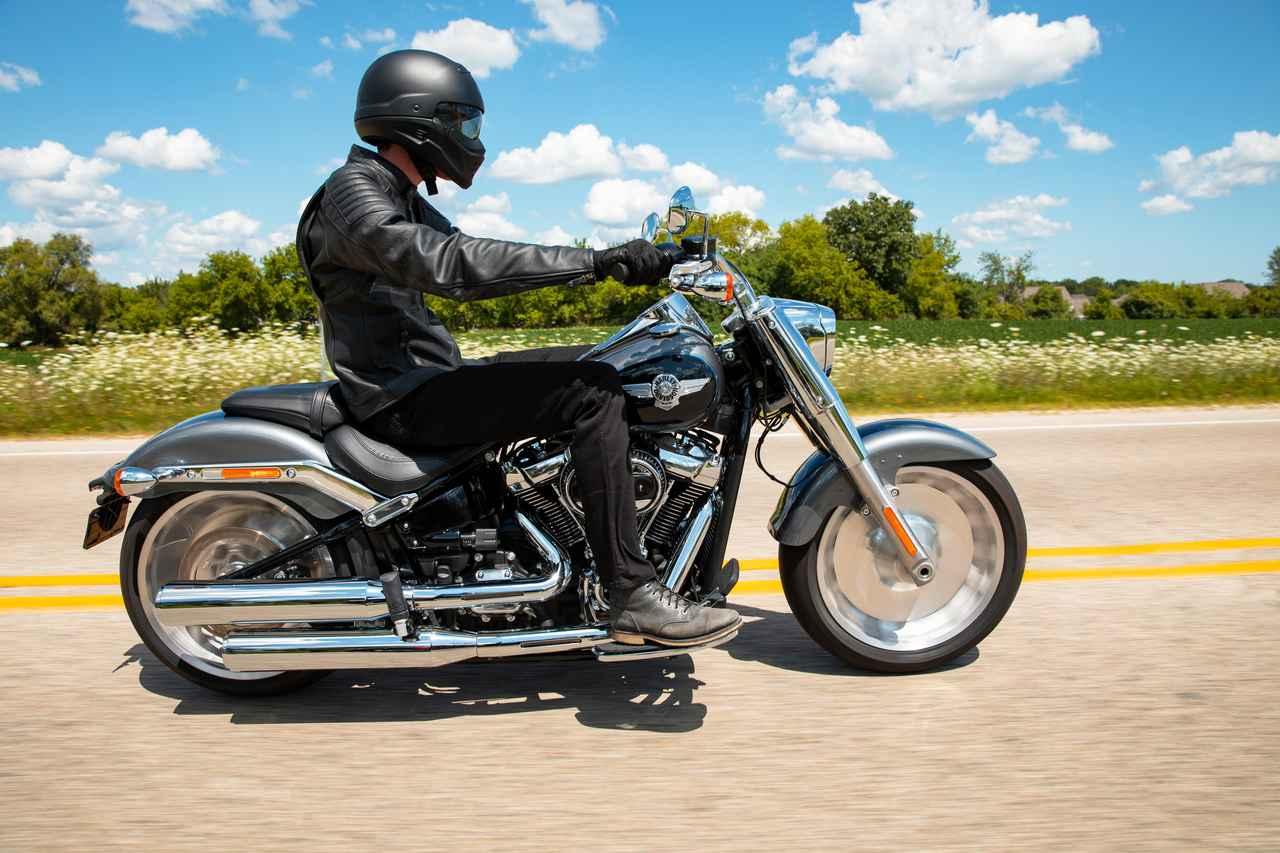 Images : 6番目の画像 - 【写真10枚】ハーレーダビッドソン「ファットボーイ114」2021年モデル - webオートバイ