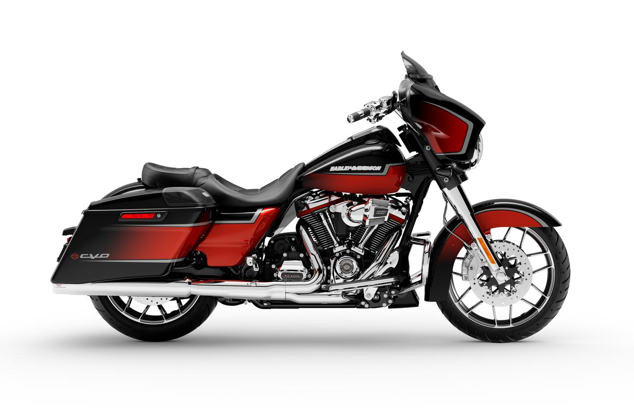 Images : 1番目の画像 - 2021ハーレーダビッドソン「CVOストリートグライド」「CVOロードグライド」 - webオートバイ