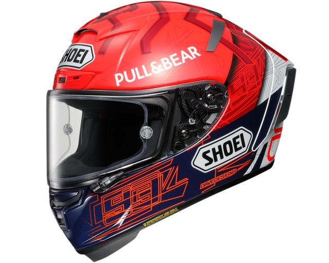 画像: MotoGP マルク・マルケス選手の最新レプリカヘルメットSHOEI「X-Fourteen MARQUEZ 6」登場 - webオートバイ