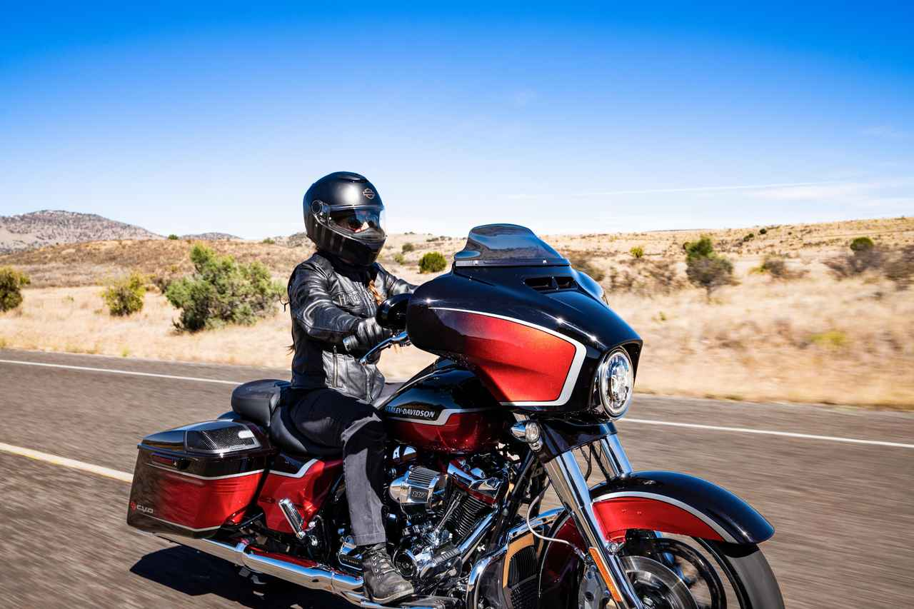 Images : 33番目の画像 - 2021ハーレーダビッドソン「CVOストリートグライド」「CVOロードグライド」 - webオートバイ