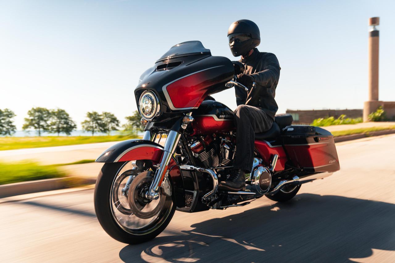 Images : 12番目の画像 - 2021ハーレーダビッドソン「CVOストリートグライド」「CVOロードグライド」 - webオートバイ