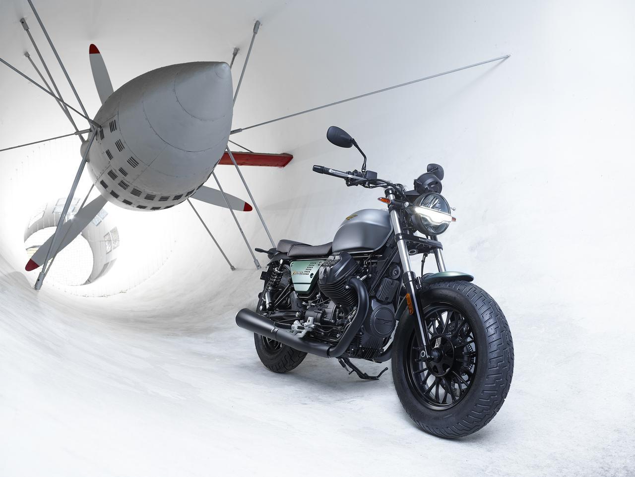 Images : 5番目の画像 - 【写真6枚】モト・グッツィ 100周年記念モデル - webオートバイ