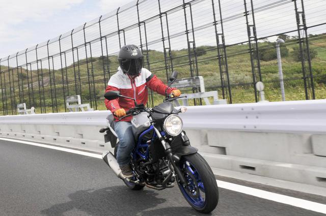 画像: 【650ccの謎】ミドルクラスの大型バイクって快適に走れるの? スズキ『SV650』で高速道路を走って検証! - webオートバイ