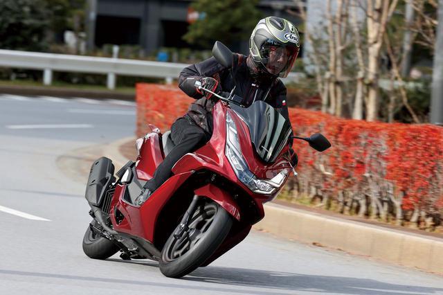 画像: Honda PCX160 総排気量:156cc エンジン形式:水冷4ストSOHC4バルブ単気筒 最高出力:15.8PS/8500rpm 最大トルク:1.5kgf・m/6500rpm シート高:764mm 車両重量:132kg 発売日:2021年1月28日 メーカー希望小売価格:税込40万7000円