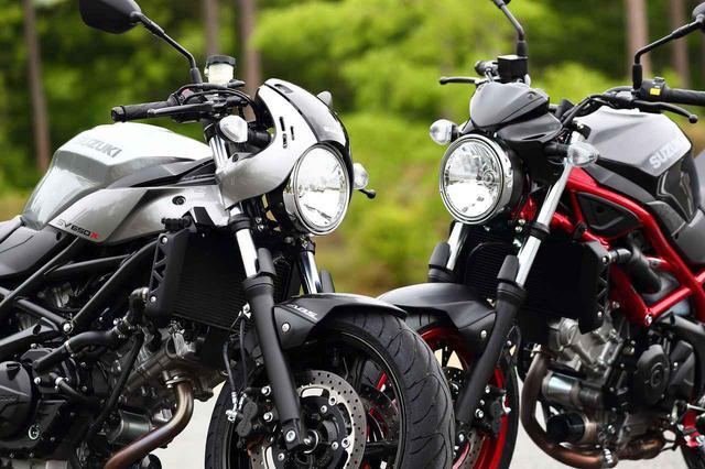 画像: スズキ「SV650」と「SV650X」2機種の特徴解説はこちら - webオートバイ