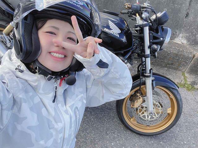 画像: 「CB400SF」航続距離調査(梅本まどか) - webオートバイ