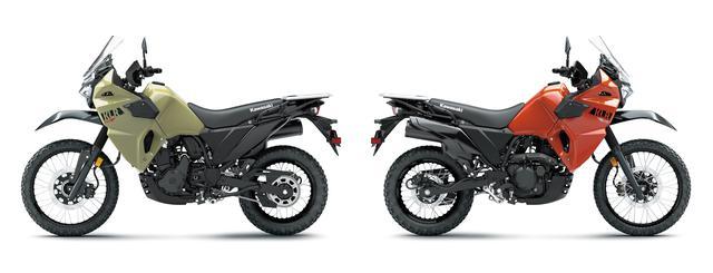 画像7: カワサキが新型「KLR650」を米国で発表! 13年ぶりのモデルチェンジを受けて魅力的なアドベンチャーツアラーへと変貌