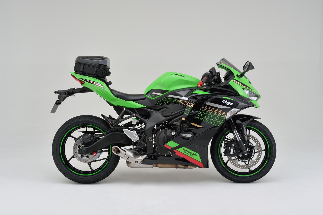 画像8: フルカウルスポーツバイクに似合うシートバッグ! 日帰りツーリングに役立つヘンリービギンズの新型「シェルシートバッグ」