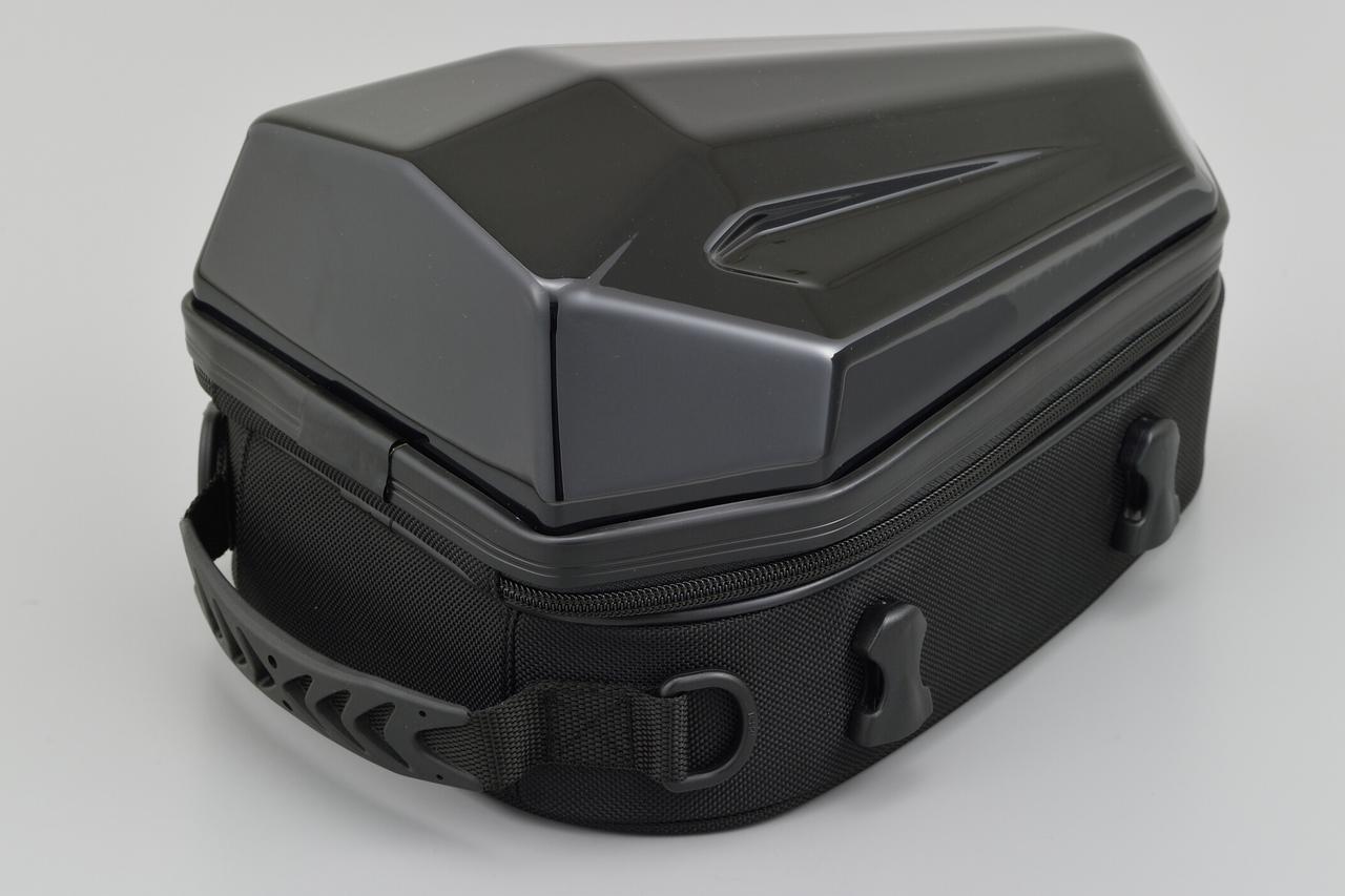 画像2: フルカウルスポーツバイクに似合うシートバッグ! 日帰りツーリングに役立つヘンリービギンズの新型「シェルシートバッグ」