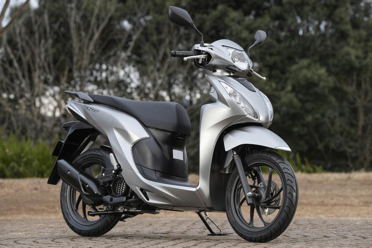 画像: ホンダ 新型 Dio110 総排気量:109cc エンジン形式:空冷4ストSOHC単気筒 シート高:760mm 車両重量:96kg 発売日:2021年2月25日(木) メーカー希望小売価格:税込24万2000円~24万5300円