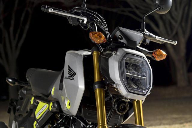 画像: ホンダ新型「グロム」の国内市販予定車の姿が明らかに! - webオートバイ