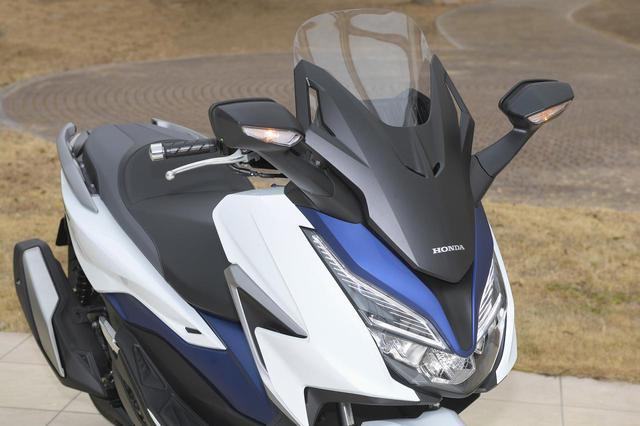 画像: 2/1 新型フォルツァの国内市販予定車が登場 - webオートバイ