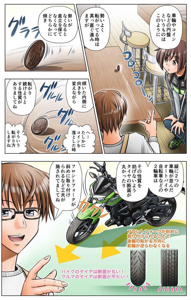 画像6: 第4話 バイクが傾いて曲がる理由/ゆる~くライテク談義『モトシーカーズ・カフェへようこそ!』