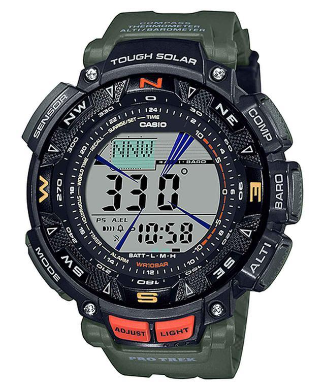 画像1: アウトドア好きの物欲をくすぐるデザインと機能! カシオのプロトレックから腕時計の新製品が登場