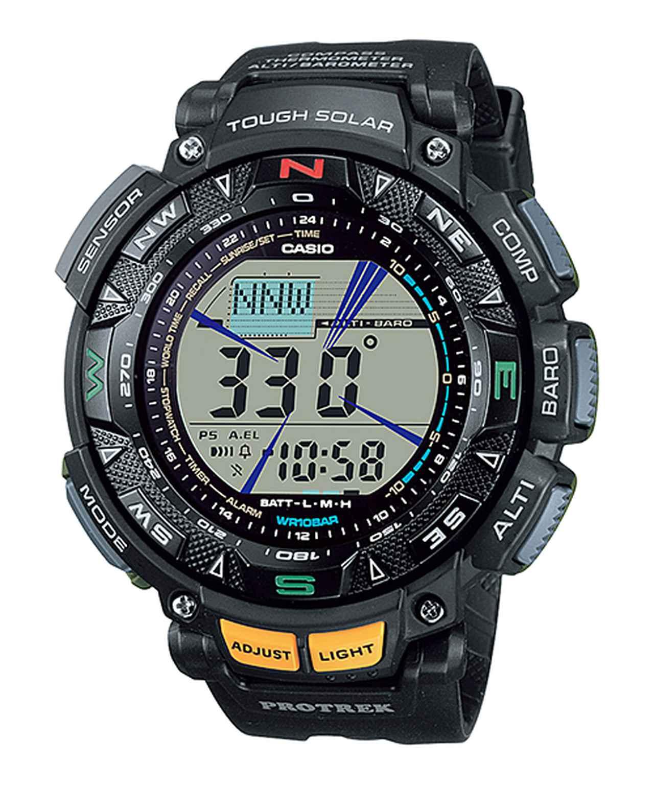 画像4: アウトドア好きの物欲をくすぐるデザインと機能! カシオのプロトレックから腕時計の新製品が登場