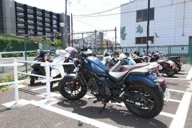 画像4: メリットいっぱい!バイク専用駐車場を上手に活用しよう!